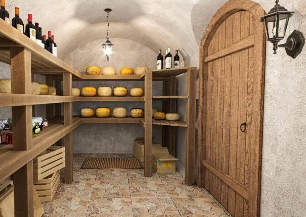 Meat or cheese cellar