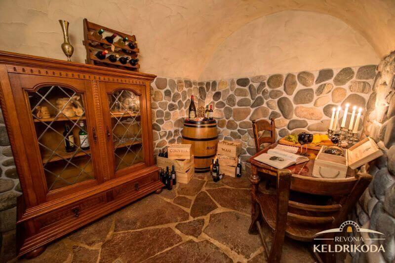 Hiiumaa wine cellar