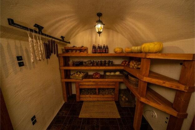Cellar at a building fair