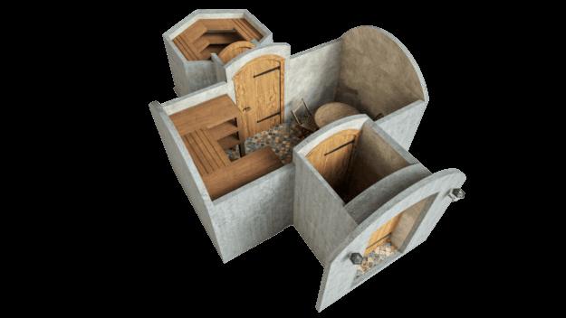 Cellar 16.2 m² STANDARD PACKAGE