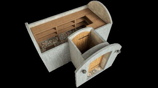 Cellar 11.7 m² STANDARD PACKAGE